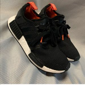 Adidas NMD sneakers size 7 women's and 5.5 men's.